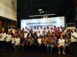 Silaturahmi Astra Financial Bersama Pemimpin Media Massa