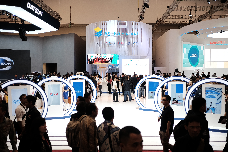 Booth Astra Financial di GIIAS 2018