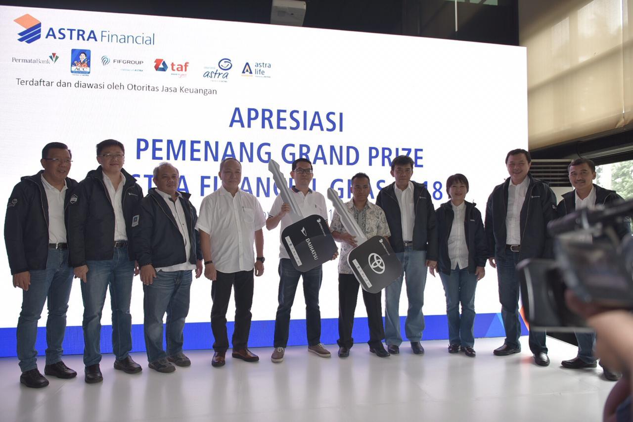Astra Financial Bagikan Grand Prize GIIAS