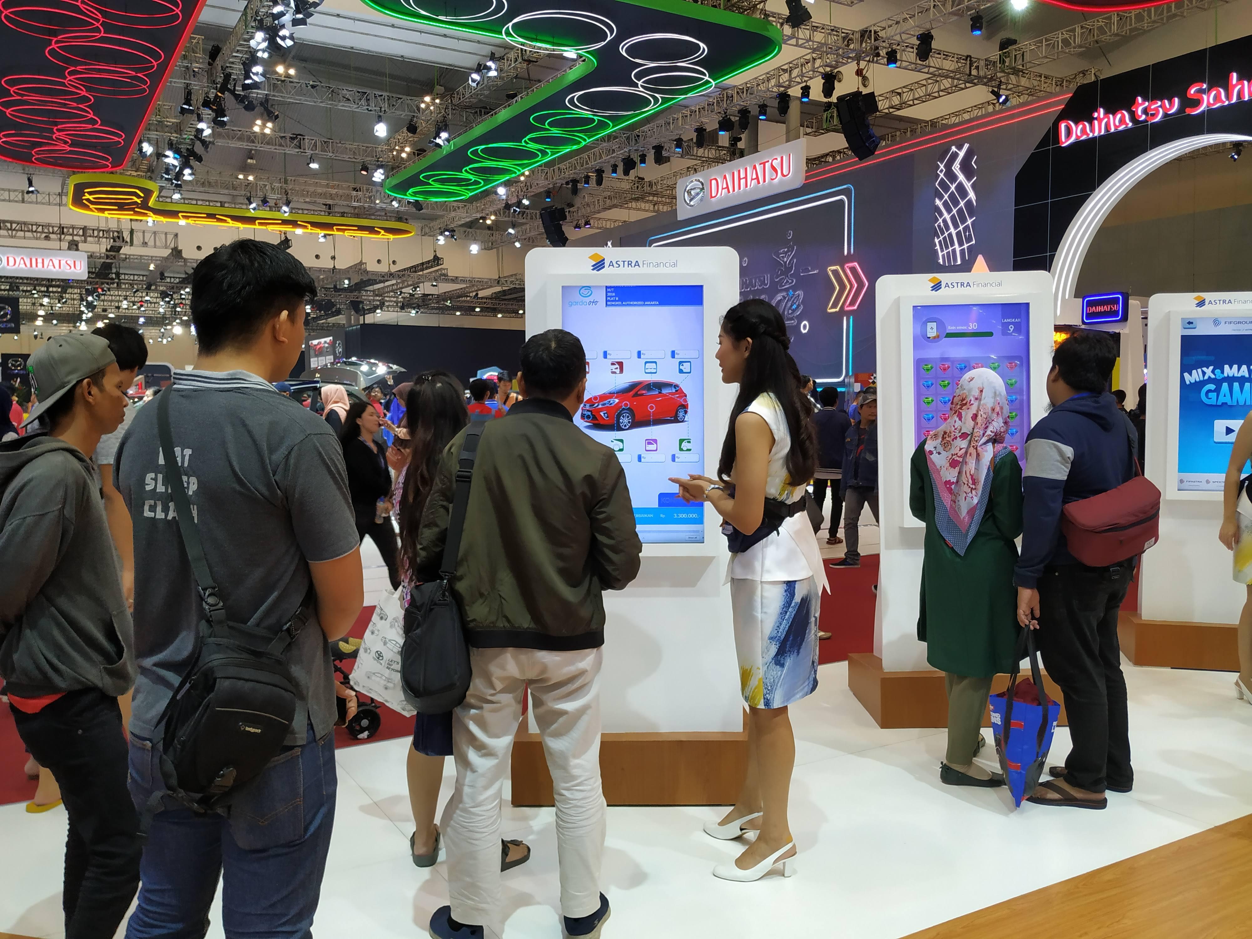 Booth Astra Financial di GIIAS 2019